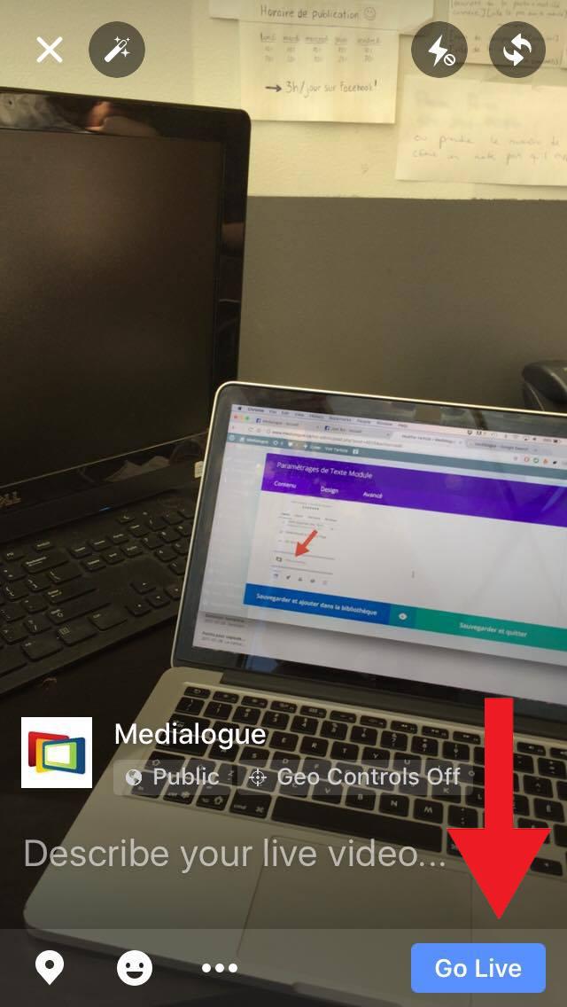 Comment faire une vidéo en direct sur Facebook - Medialogue