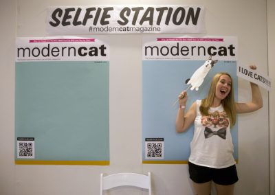 Exemple de la construction d'un mur à selfie - Medialogue