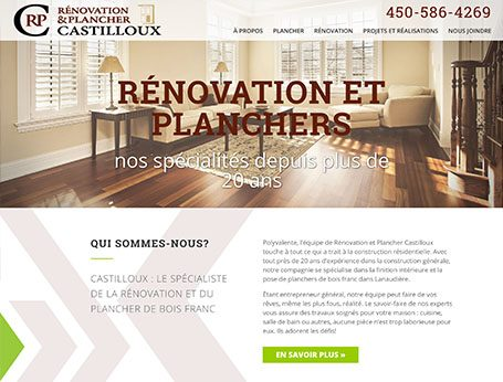 Renovation et Planchers Castilloux - Medialogue