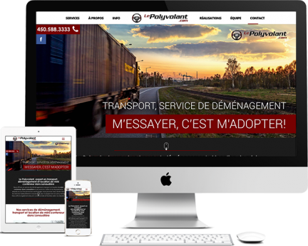 Le Polyvolant - Medialogue (Conception de site web)