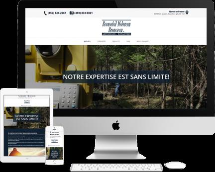 Démo Arpentage Beausoleil-Mélançon (Conception de site web) - Medialogue
