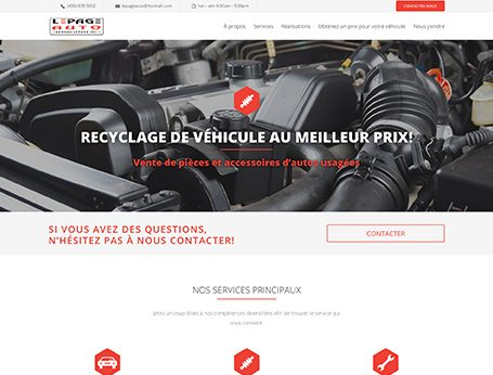 Démo Lepage Auto (conception de site web) - Medialogue