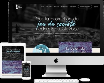 Démo Ludo Québec (conception de site web) Medialogue