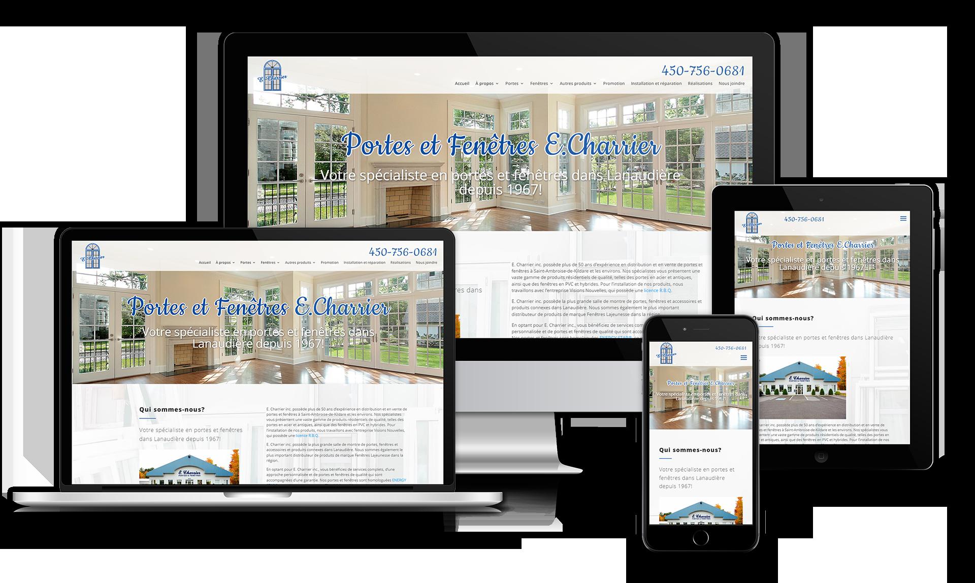 Template e.charrier - Medialogue Conception de site web